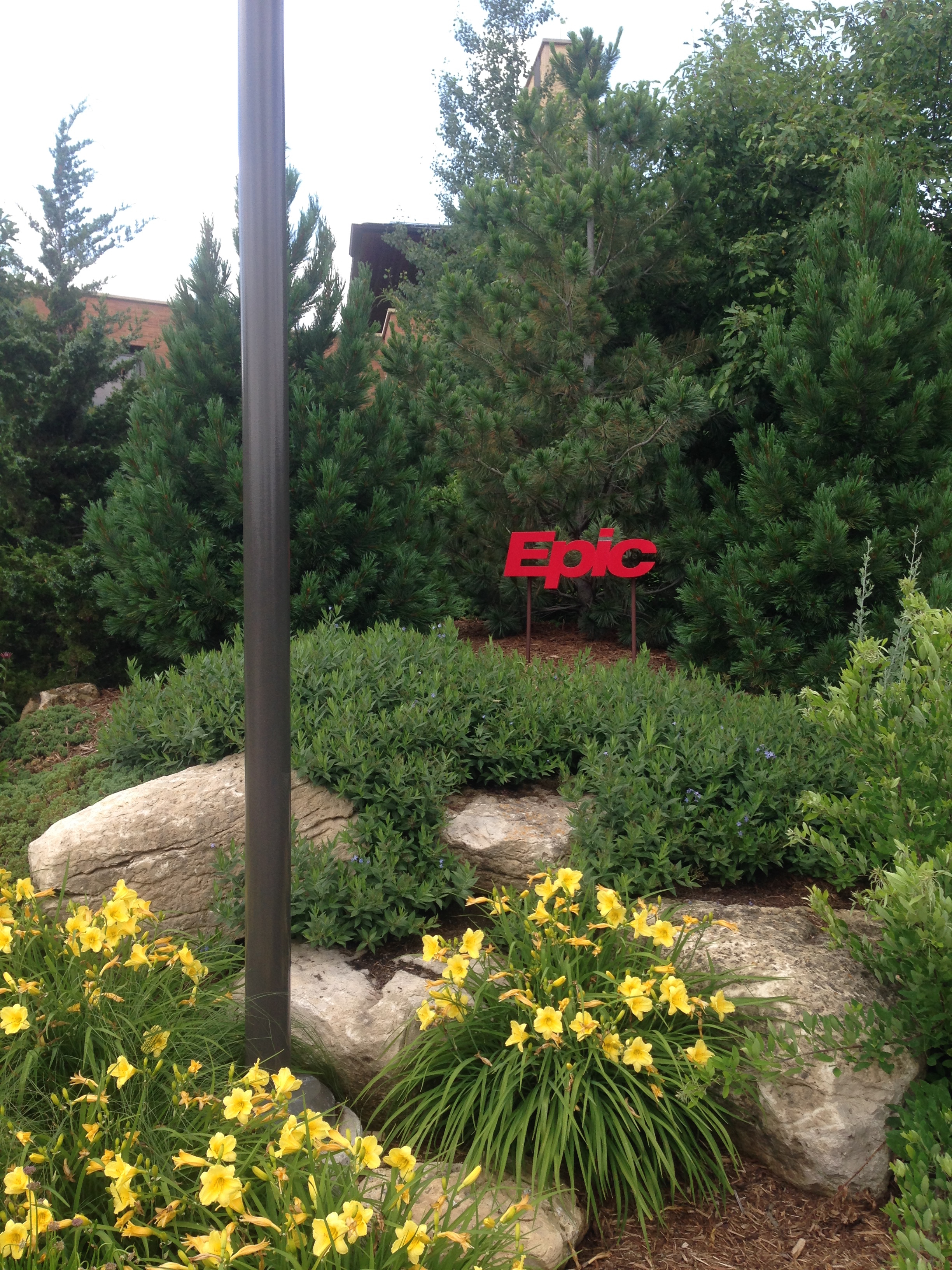 Epic HQ sign