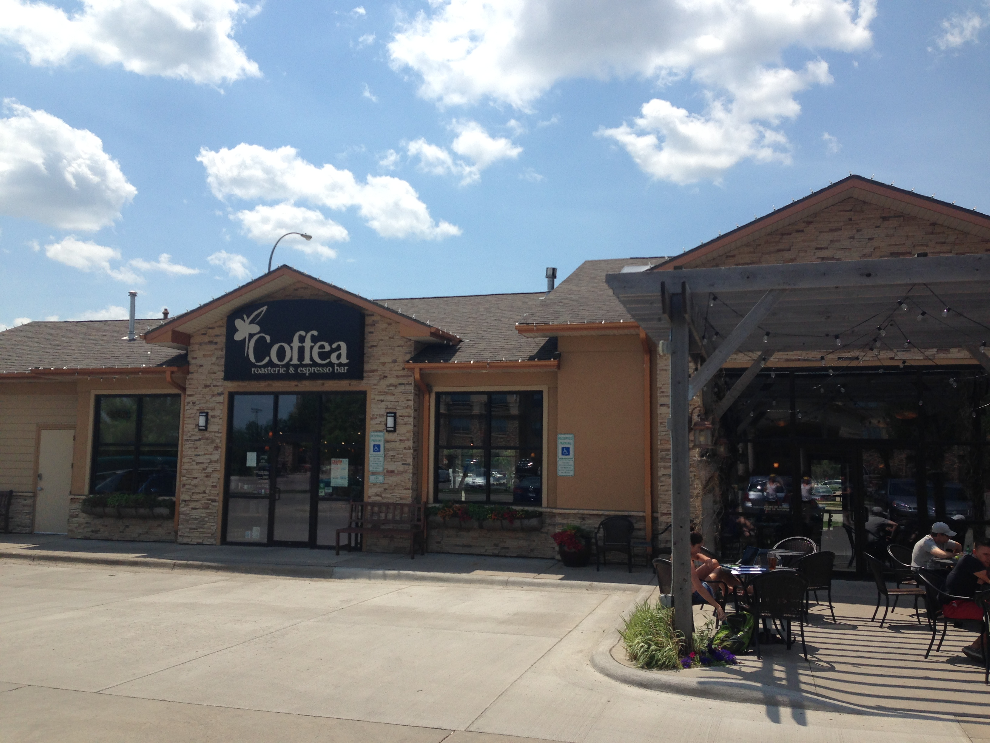 Coffea coffee shop in Sioux Falls