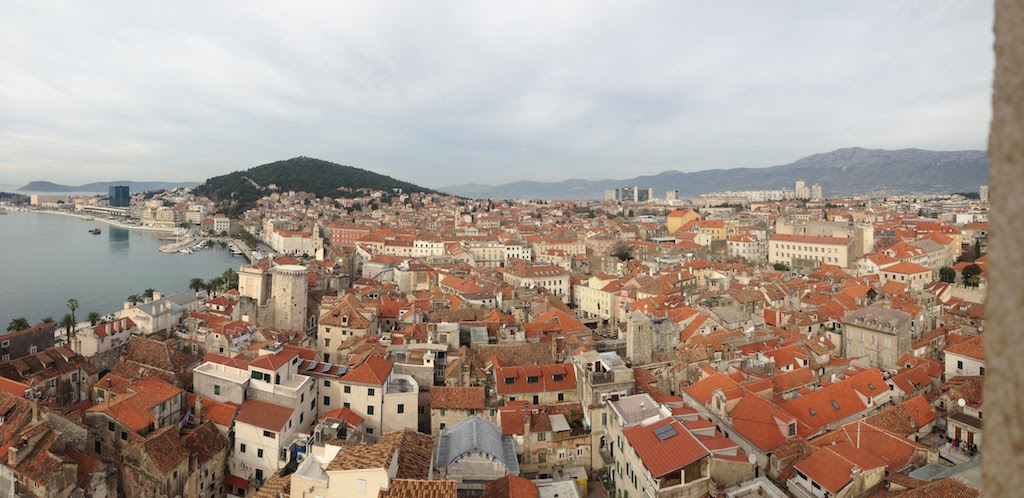 View from Diocletian's Palace