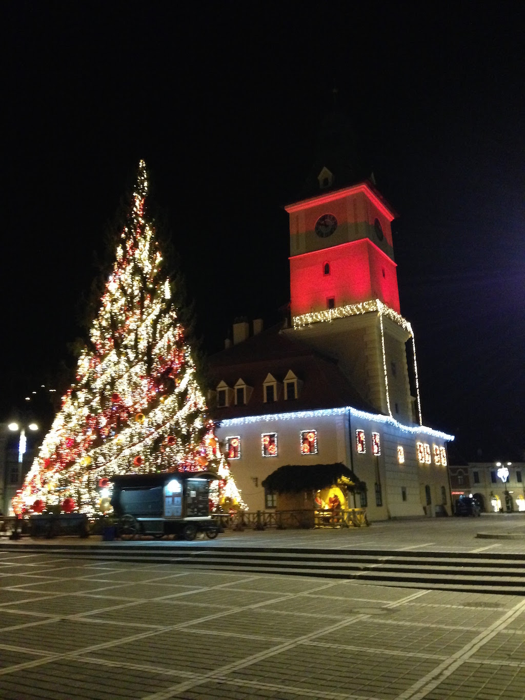 Brasov Christmas lights