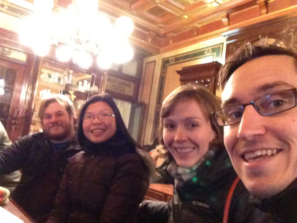 Group at Demel