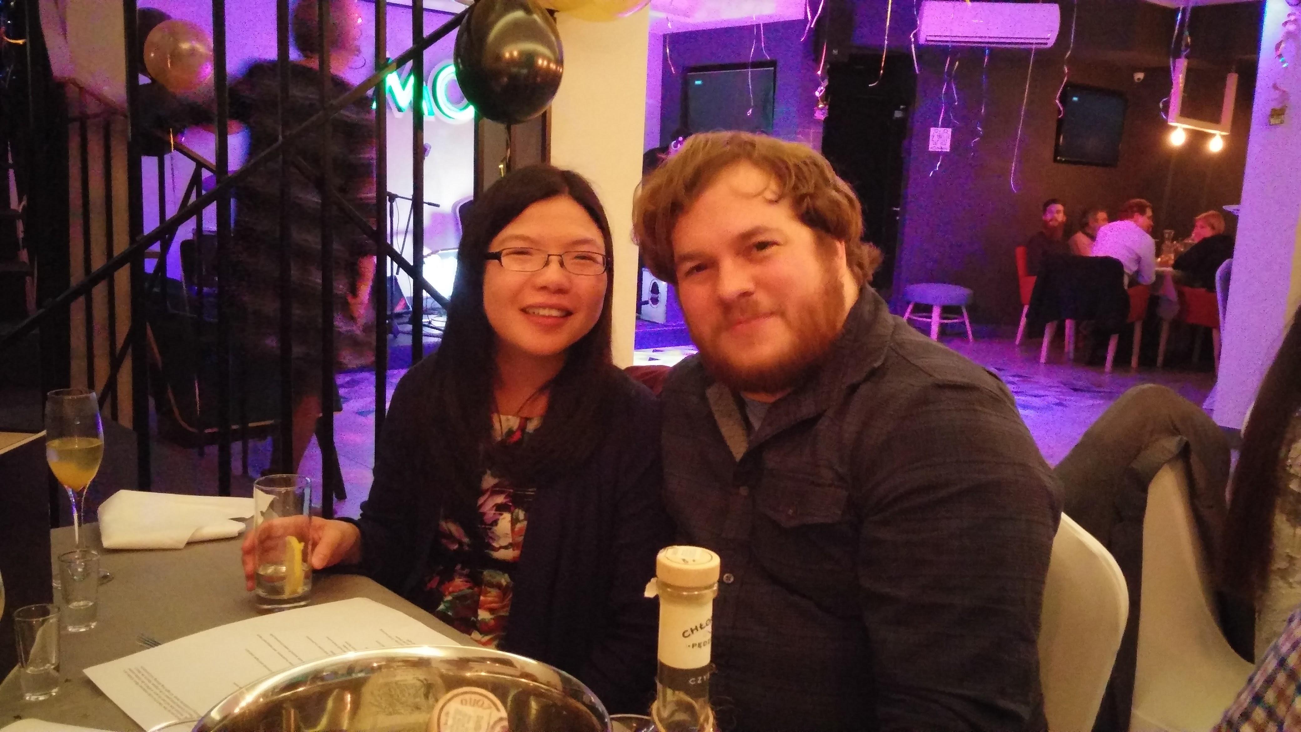 NYE couple