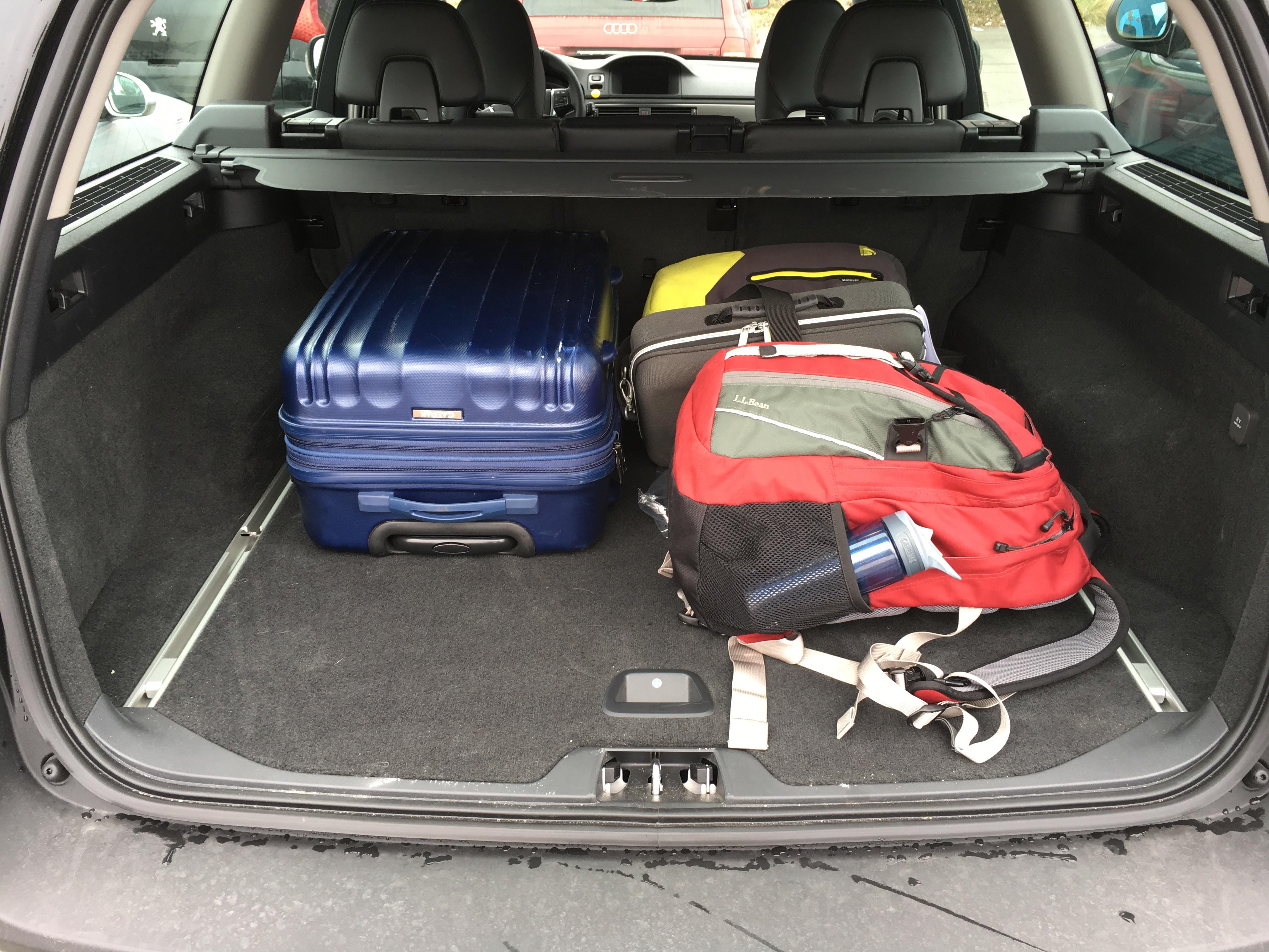 Half-empty trunk
